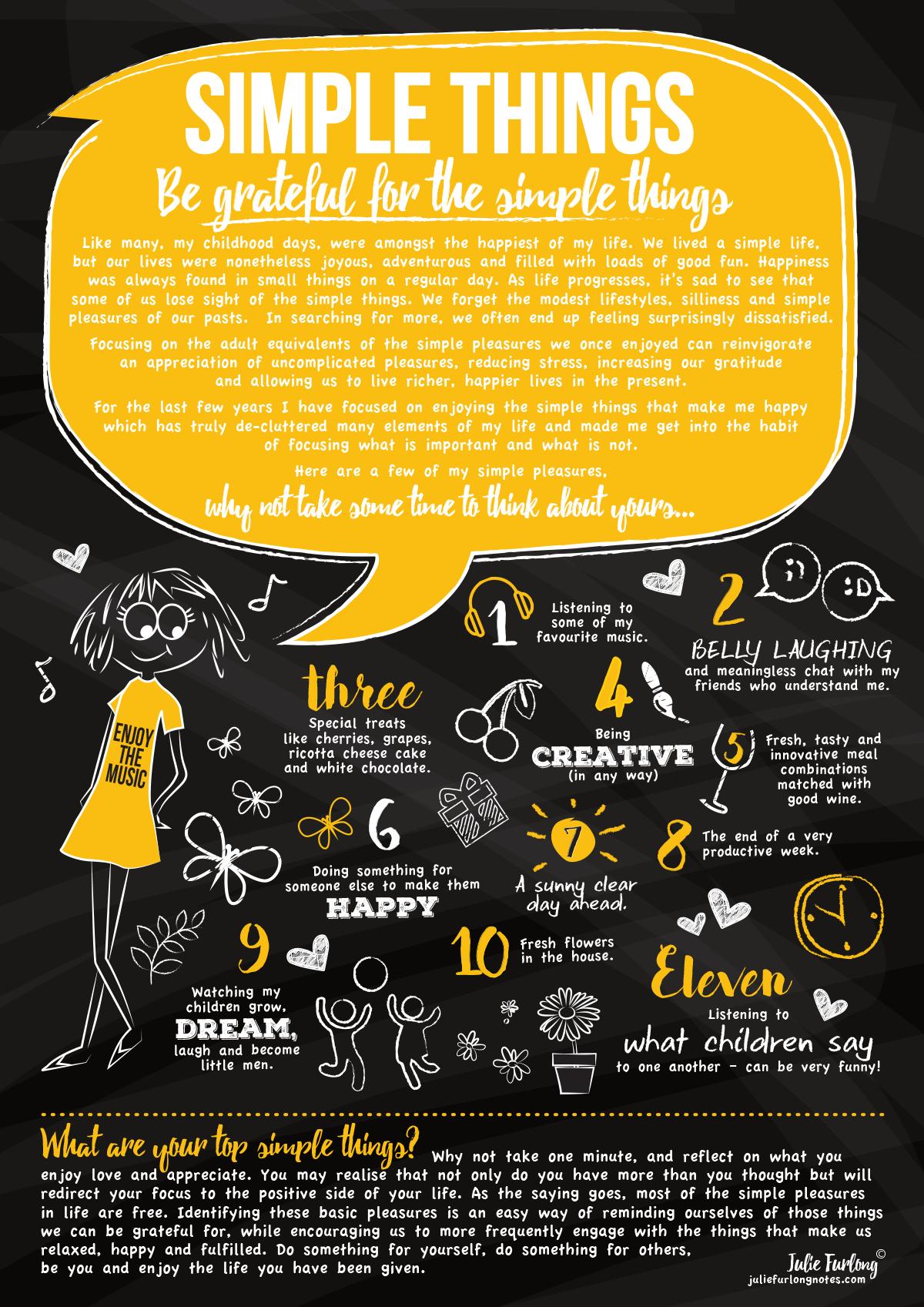 11 Simple pleasures to enjoy life
