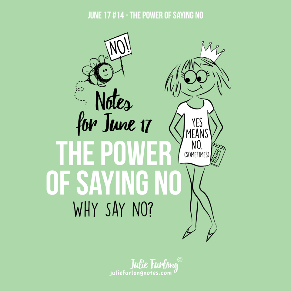 Julie-Furlong-Notes-Power-of-saying-no