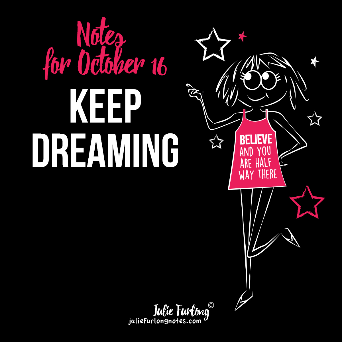 Julie-Furlong-Notes-Keep-dreaming