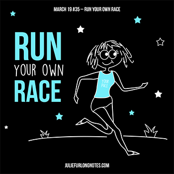 Julie-Furlong-Notes-Run-your-own-race-featured